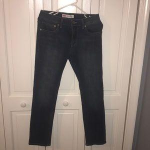 Levi's dark wash jeans